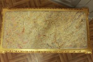 baroque couch  marble beige table antique style baroque rococo AlTa0253BGoBg – Bild 3