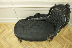 Baroque méridienne chaise style antique AlSo0316SwSwBaby – Bild 4