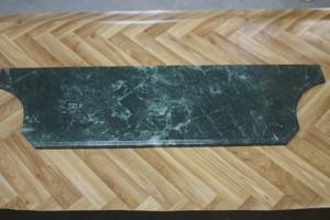 Marble Slab marbre pierre 123x36x2cm vert MA12