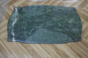 Marble Slab marbre pierre 90x56x2cm vert MA14
