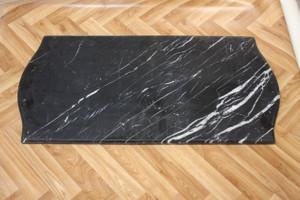 Marble Slab marbre pierre 96x48x2cm noir MA17