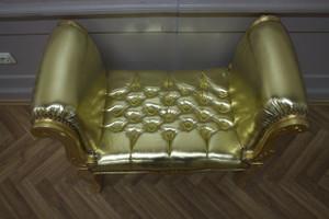 Baroque banquet chaise tabouret AlSo0319GoSkGo de style antique – Bild 4