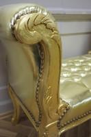 Baroque banquet chaise tabouret AlSo0319GoSkGo de style antique – Bild 6