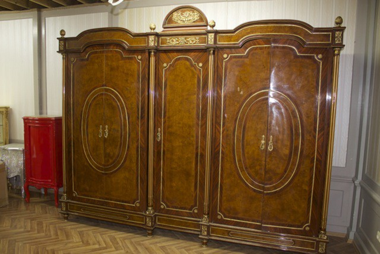 Barock KleiderSchrank Antik Stil Louis XV MoBd07705 | LouisXV ...