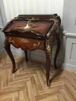secrétaire Antique Style Baroque Bureau Plat Louis XV MoSc0600 – Bild 4