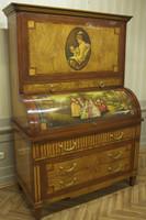 Baroque secrétaire Chest Antique Style Rococo historicisme AlSc0001B – Bild 2