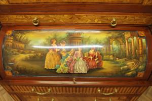 Baroque secrétaire Chest Antique Style Rococo historicisme AlSc0001B – Bild 5
