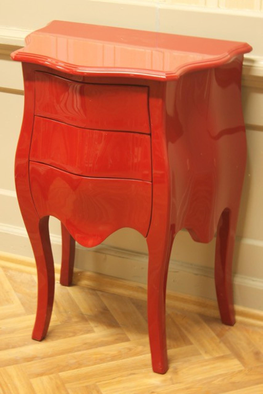 petite commode baroque rouge pas de poign es louisxv online shop f r antike m bel. Black Bedroom Furniture Sets. Home Design Ideas