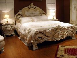 Barock Bett Bed Lit Letto Venetian Venezianisch Vp7732-K – Bild 1