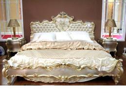 Barock Bett Bed Lit Letto Venetian Vénitien Barocco Vp7762-K – Bild 1