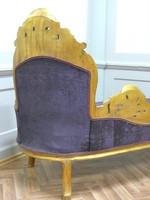 Baroque méridienne chaise style antique AlSo0316GoLila – Bild 10