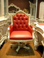 baroque armchair carved antique style  rococo Vp9929 – Bild 1
