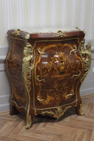 commode baroque Cabinet Louis XV style antique MoKm0025IntBg – Bild 2