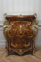 commode baroque Cabinet Louis XV style antique MoKm0025IntBg – Bild 3