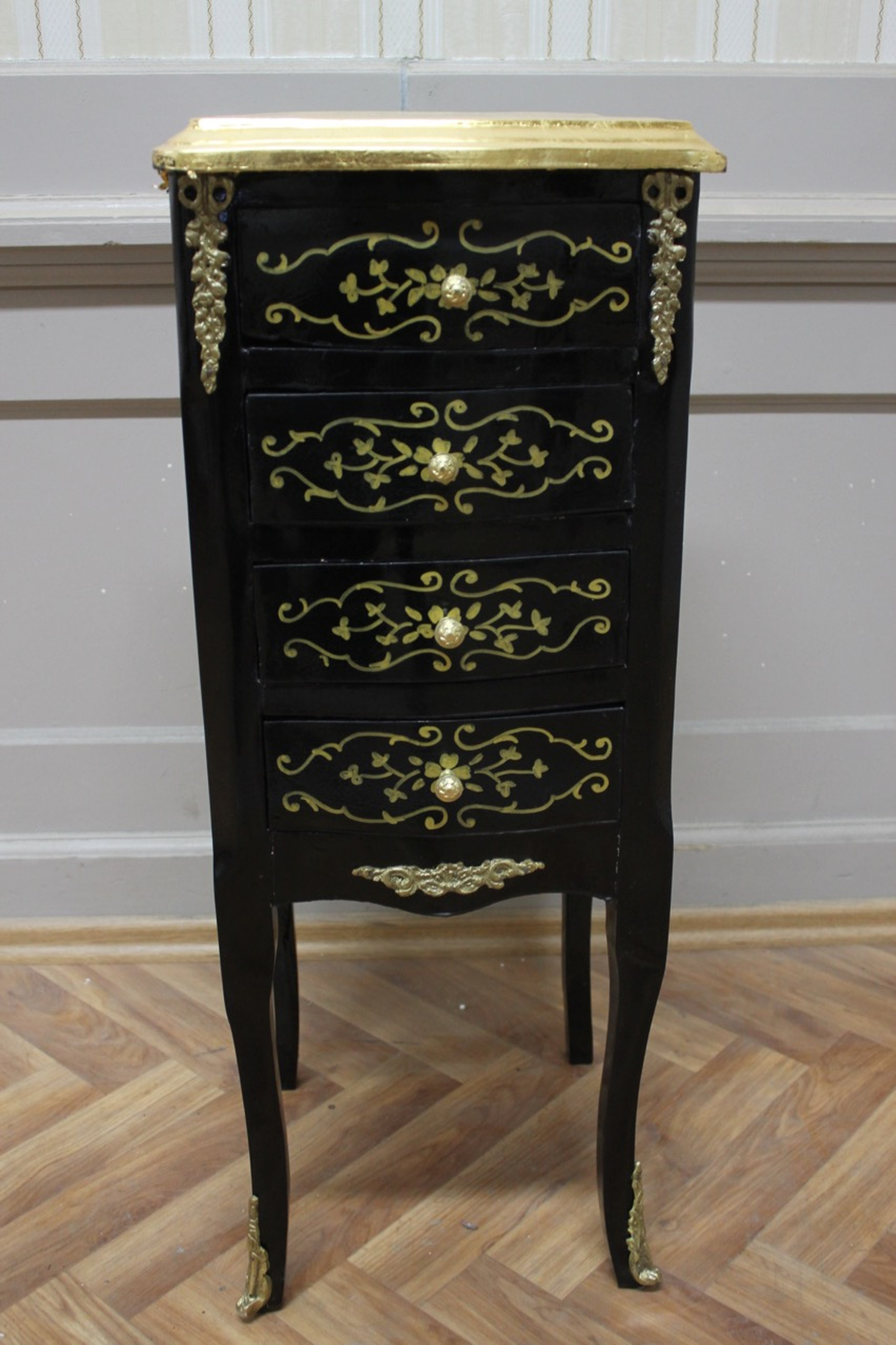 barock kommode schrank schwarz louisxv antik stil aakm0111 louisxv online shop f r antike m bel. Black Bedroom Furniture Sets. Home Design Ideas
