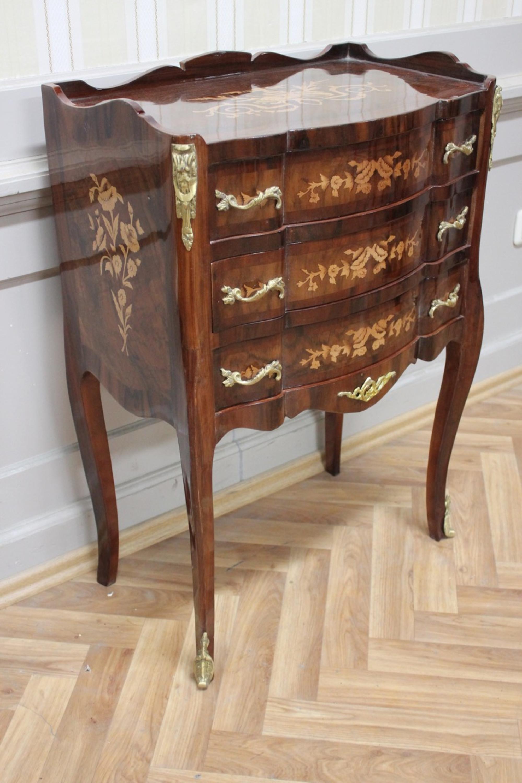 Barock Kommode Rokoko  Antik Stil AwKm0320sPHz antik Stil Massivholz Repliziert