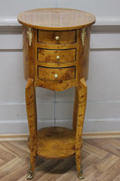 Commode baroque Cabinet Louis XV style antique MkKm0141 – Bild 4