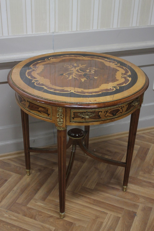 Antik beistelltisch sidetable barock stil echtholz for Tisch antik