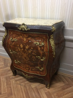 Commode baroque Cabinet Louis XV style antique MkKm0105Bg – Bild 1