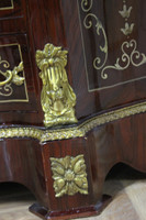 Commode baroque Cabinet Louis XV style antique MkSm0036Bg2 – Bild 6