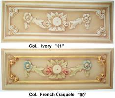 Baroque Flower - Säulem Rococo décorative Vp5433 de style antique – Bild 3