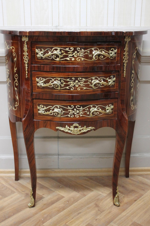 barock kommode antik stil louisxv mkkm0060 2 antik stil massivholz replizierte ebay. Black Bedroom Furniture Sets. Home Design Ideas
