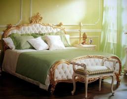 Barock Bett Queensize Bett  180x200 Schlafzimmer Antik Stil   Vp7723/Q – Bild 1