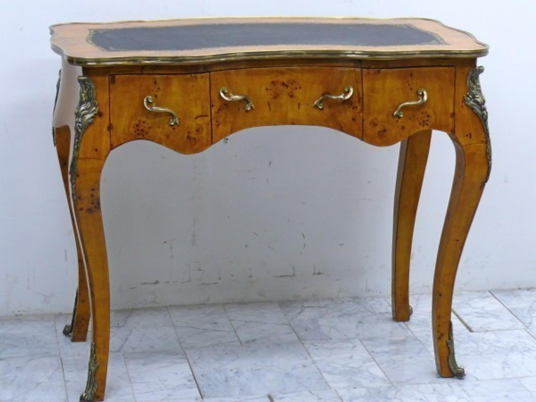 Details zu Barock Schreibtisch Antik Stil Bureau Plat MoSr0436AlRd