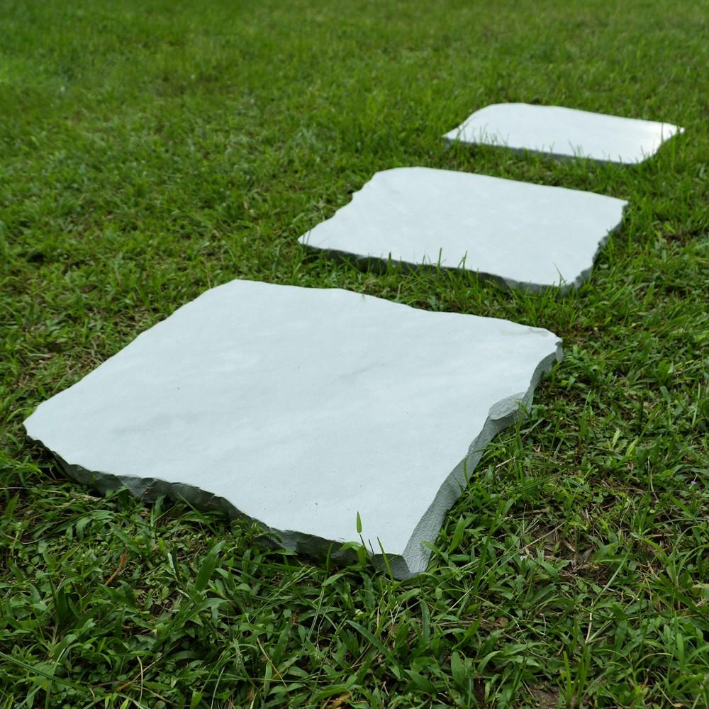 2er pack sandstein trittstein ca 40 cm bei wohnfreuden - Trittsteine garten ...