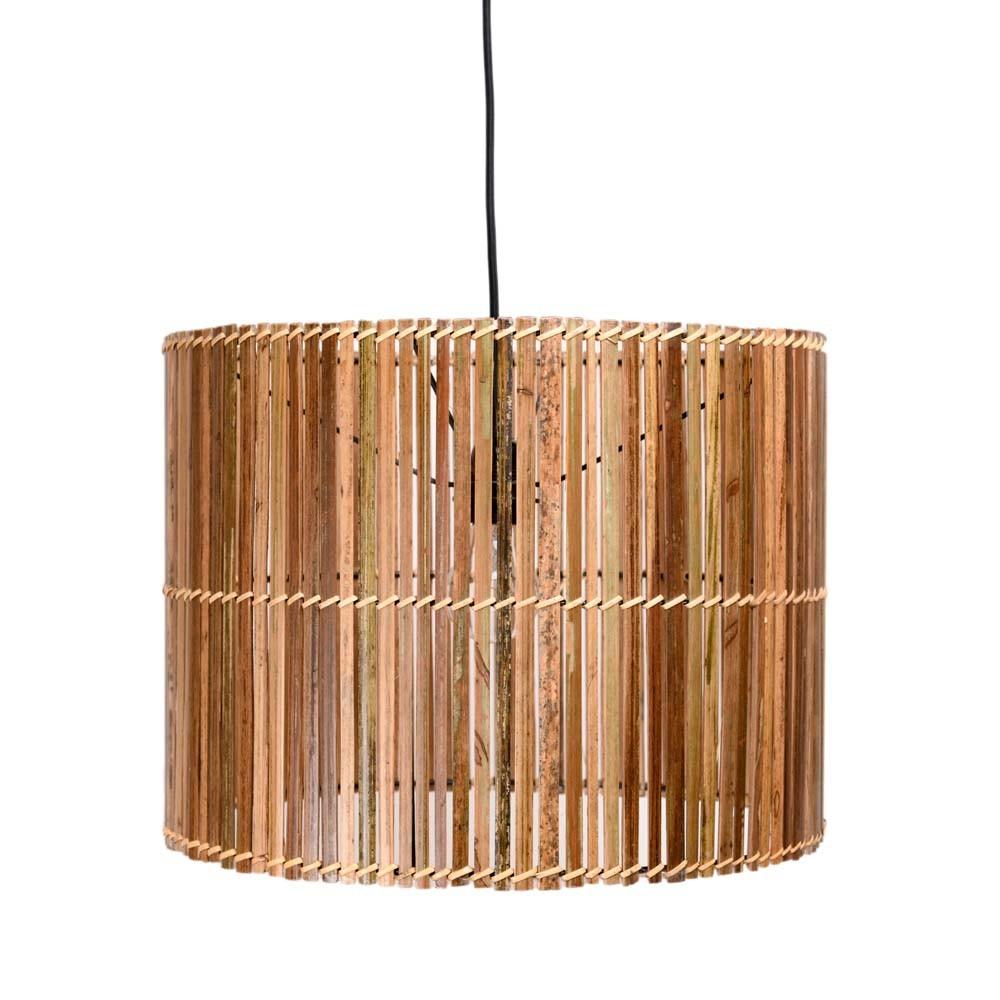 Bambus Hangelampe Esmeralda 40 Cm Bei Wohnfreuden Kaufen