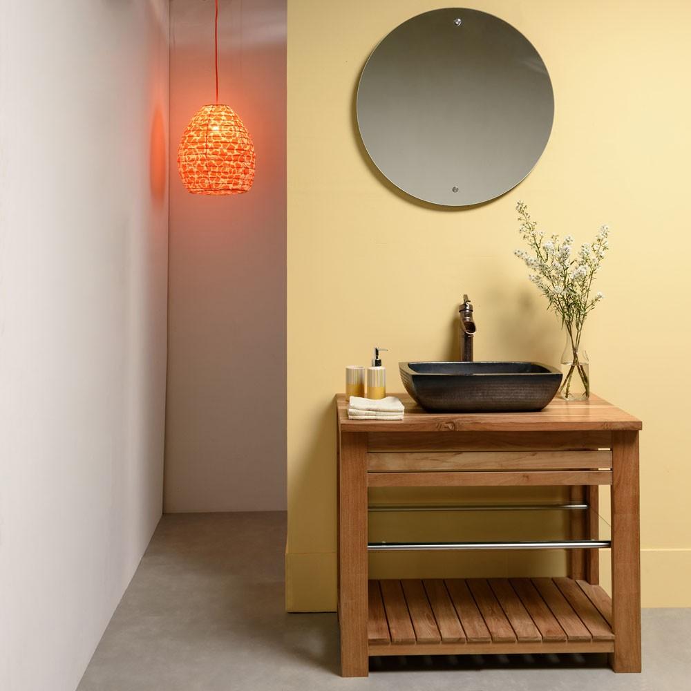 waschbecken aus kupfer 50 cm bei wohnfreuden kaufen. Black Bedroom Furniture Sets. Home Design Ideas