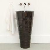 Marmor Waschtisch-Säule 'LEPET' anthrazit Bild 9