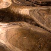 WOHNFREUDEN Teak-Holz Kugel ca 40 cm Teakkugel lasiert Dekoration Natur Ball