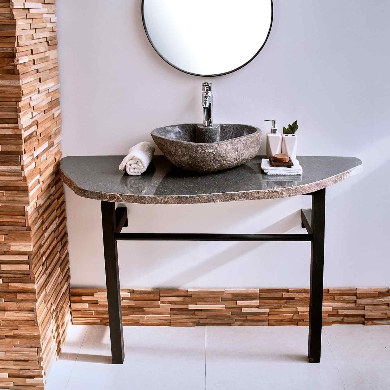 Naturstein Waschtischplatte ca 20x20 cm kaufen