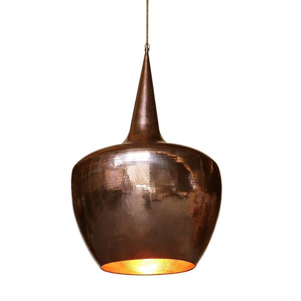 Kupfer Lampenschirm Jokar Größe L gold 50x50x80 cm
