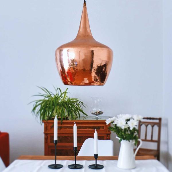 Kupfer-Lampe Gr M 40 x 60 cm