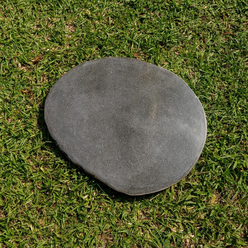 WOHNFREUDEN 2er Set Naturstein Trittsteine ca 35-40 cm  Flussstein Trittplatten