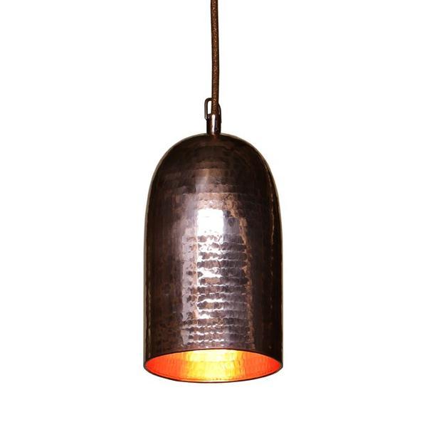 Lampe Kupfer Hängeleuchte 12 cm
