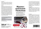 WOHNFREUDEN Naturstein Waschbecken Versiegelung Imprägnierung Pflege Fleckschutz 500 ml