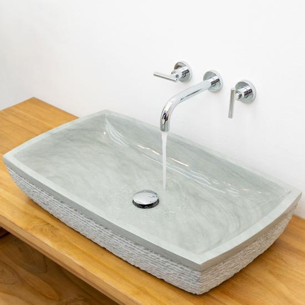 Sandstein Waschbecken MARA 70 cm