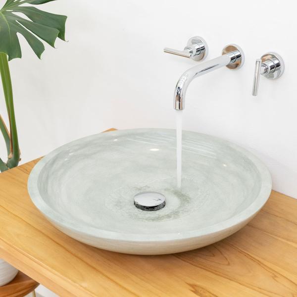 Sandstein Waschbecken Lemper poliert 50 cm