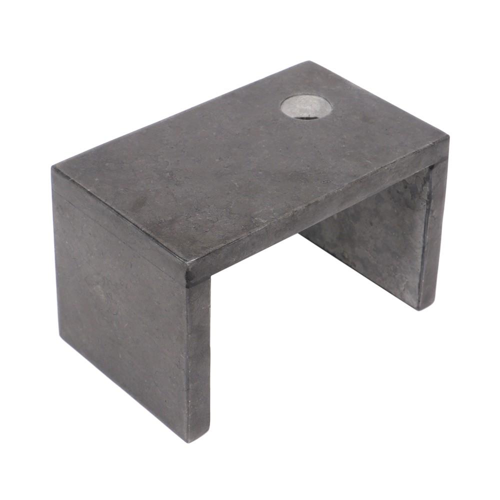 WOHNFREUDEN Marmor Armaturenhalterung Kotak Säule Waschtischsäule Standbecken