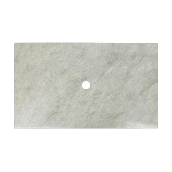 Sandstein Waschtischplatte 93x56,5x3 cm