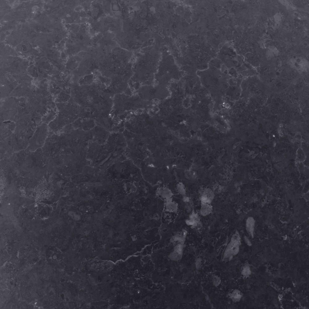 WOHNFREUDEN Marmor Waschtischplatte anthrazit 80x52x3 Waschbecken-unterschrank