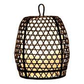 WOHNFREUDEN Lampe Bodenlampe Kupfergestell mit Kunstharz ca 35x50cm Bodenleuchte 1