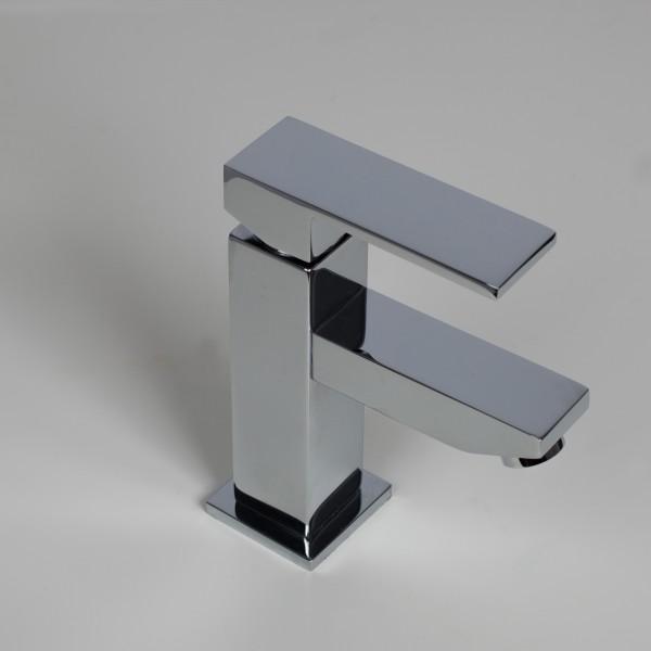 WOHNFREUDEN Waschbecken Armatur Hoga inkl. Ventil 16 cm Mischbatterie Waschtisch