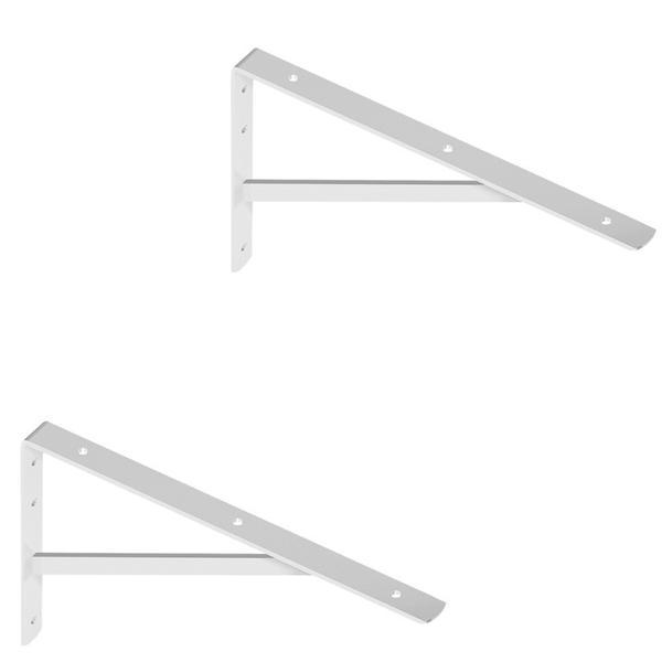 Waschtischplatten Winkel weiß 40x27 cm