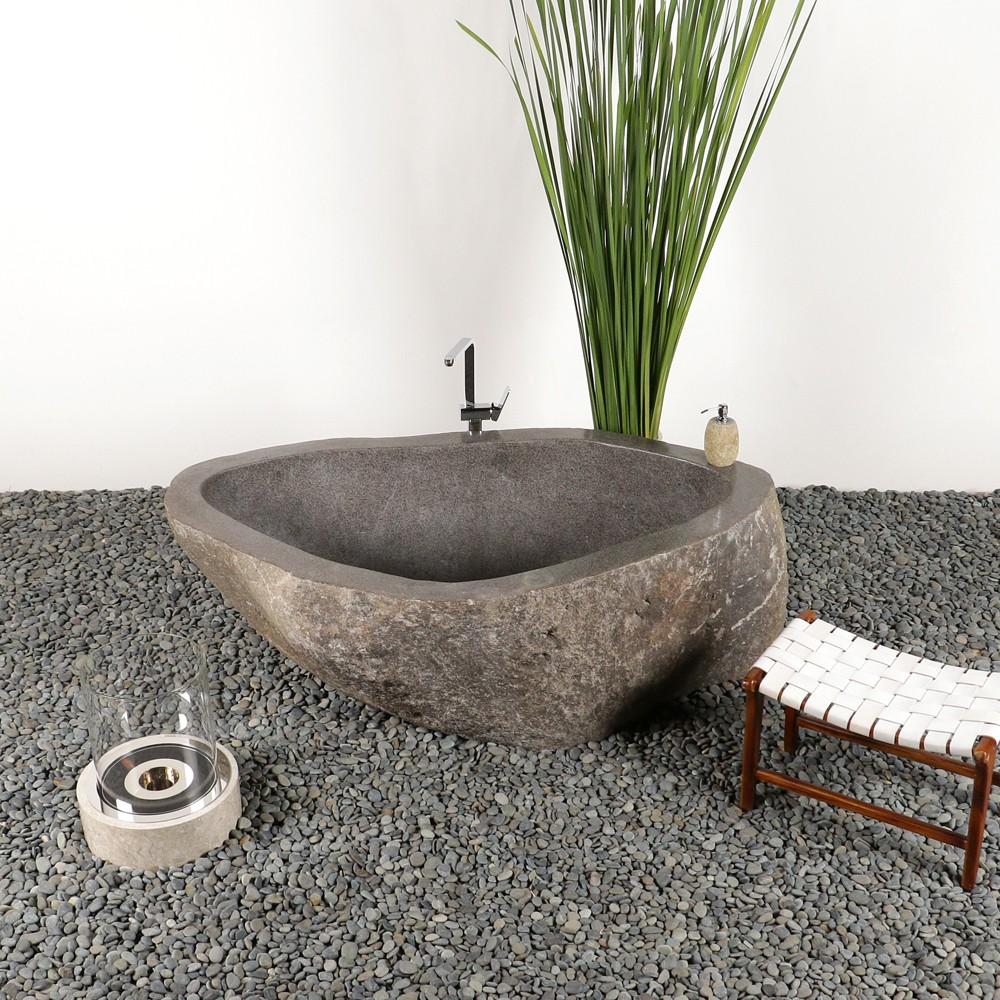 Badewanne Naturstein naturstein badewanne 175x103x62 cm bei wohnfreuden kaufen