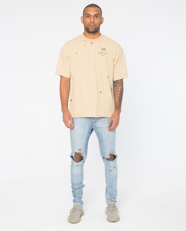 ORIGINS SAND DISTRESSED TEE – Bild 1