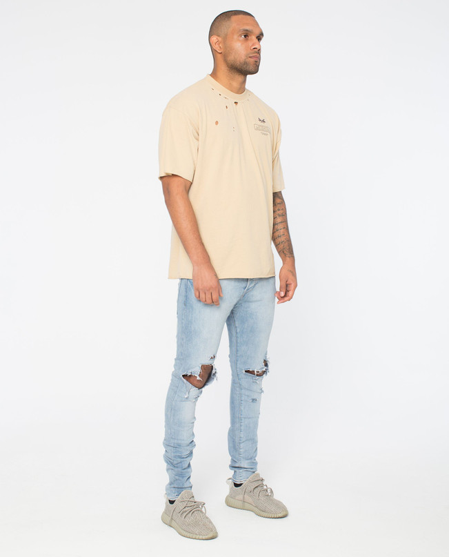 ORIGINS SAND DISTRESSED TEE – Bild 3